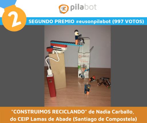 Segundo Premio Eusonpilabot 2019