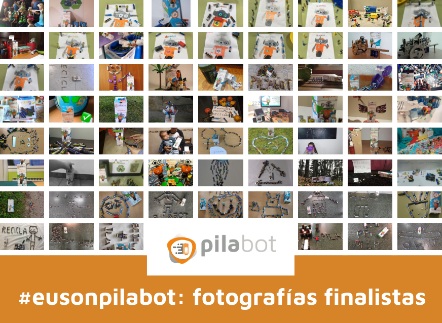Concurso individual fotografía pilas pilabot eusonpilabot galicia recollida recogida acumuladores
