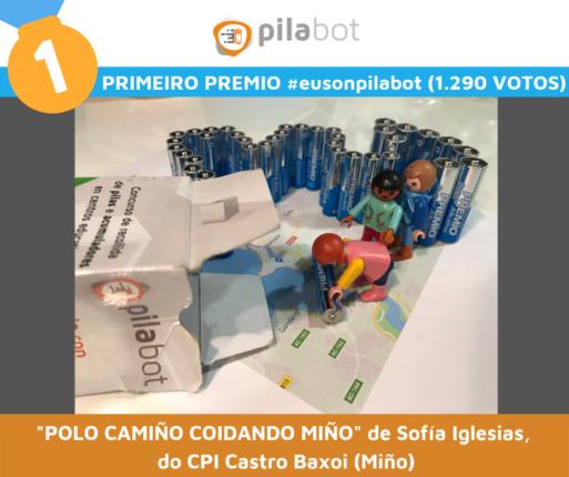 Primeiro Premio Eusonpilabot 2019