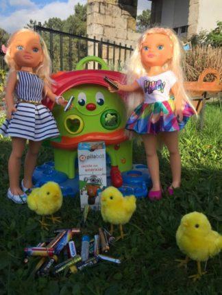 """""""As miñas bonecas tamén reciclan"""" acadou o segundo premio #eusonpilabot"""